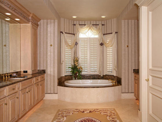 The Master Bathroom At Maris House