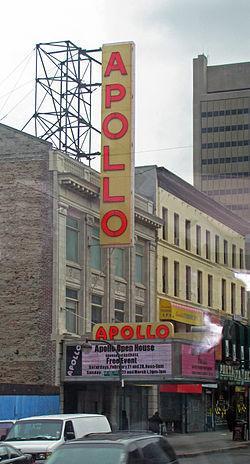 Visiting The Apollo Theatre In New York City