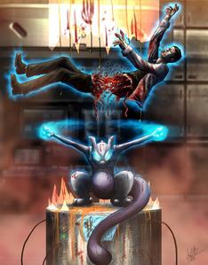 Evil Mewtwo