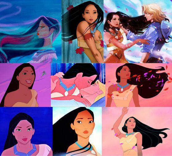 Pocahontas Collage