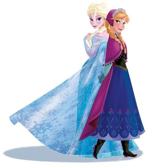 Still to come: Anna and Elsa