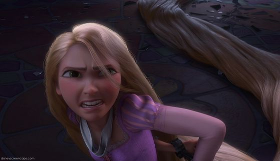 Come on, Rapunzel! 당신 can do this! -disneygirl7