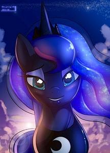 Luna's got her eyes on a certain stallion...