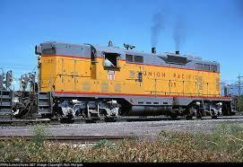 A Union Pacific GP7