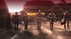 The six ODST's