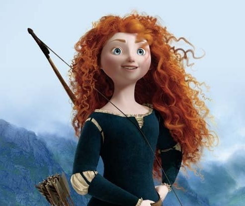 Merida in the confessional