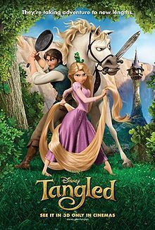 Theatrical Poster (Tangled)