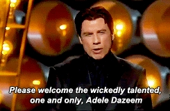We love Adele Dazeem!