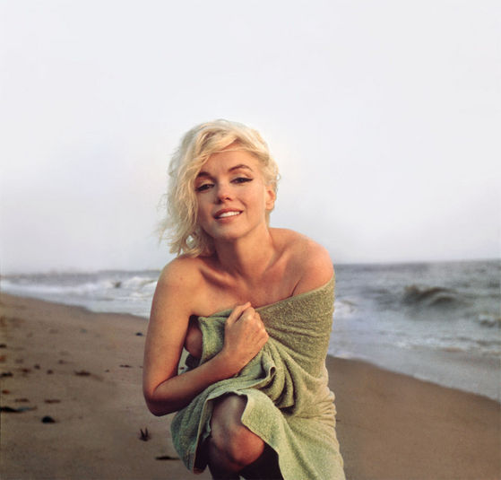 A Portrait Of Marilyn Monroe दिया To Michael From Maris