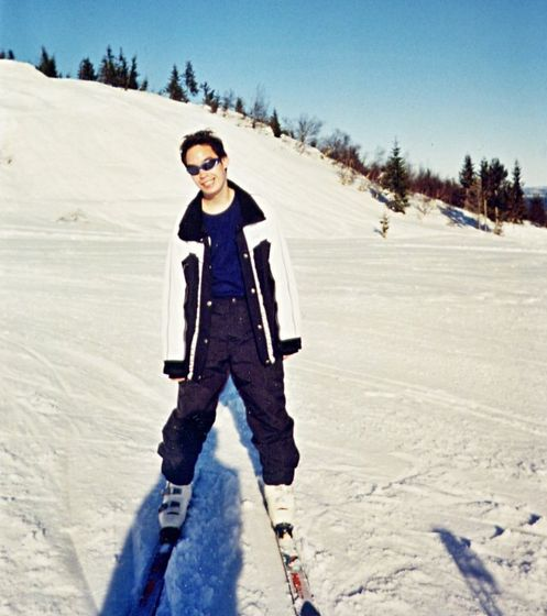 Skiing Trip in Norway, early 2003.