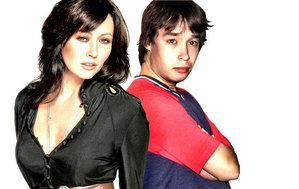 PrueFever aka Jørgen with his idol, Prue Halliwell aka Shannen Doherty.