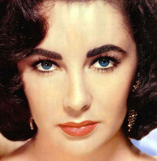 1) Elizabeth taylor was a sex symbol for a reason. She is strikingly beautiful, beyond description the photo speaks for itself. Personally I find her famous violet eyes hypnotic and enthralling as if she is staring into my soul.