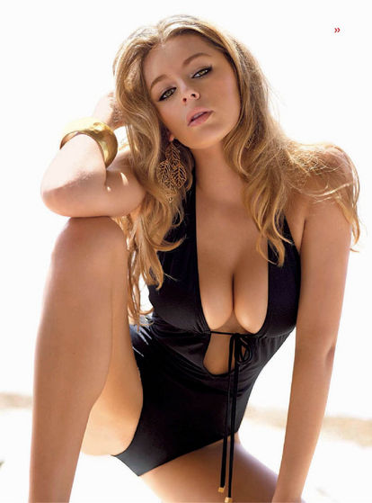 1) Keeley hazell is a extremely successful british glamour model. Aside from her ample bosom and voluptuous physique she is also especially gorgeous.