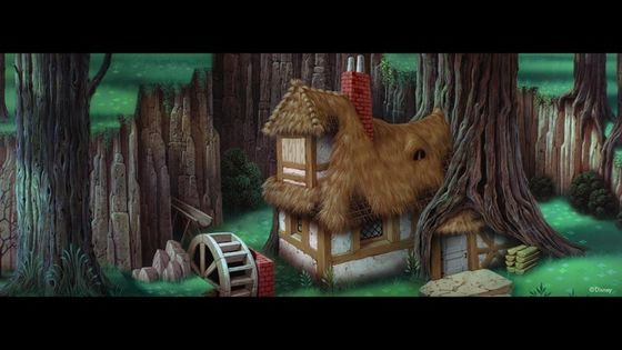 My Enchanted fairy tale cottage! Where we live in the pokok like squirrels. :3