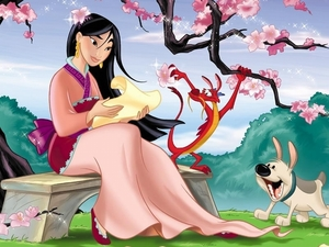 The article seemed too plain looking so I thought I'd add this nice picture of my favorite princess, Mulan