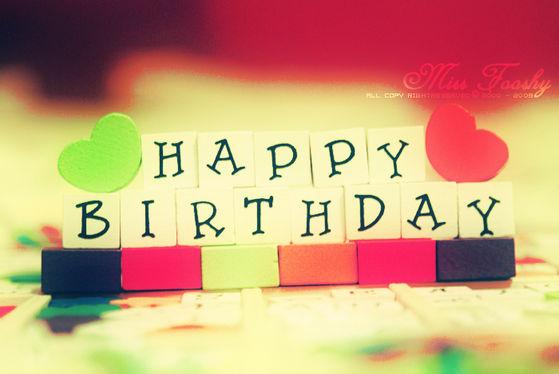 Happy Birthday again MDR