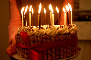 Your Birthday cake!<3 Yummy