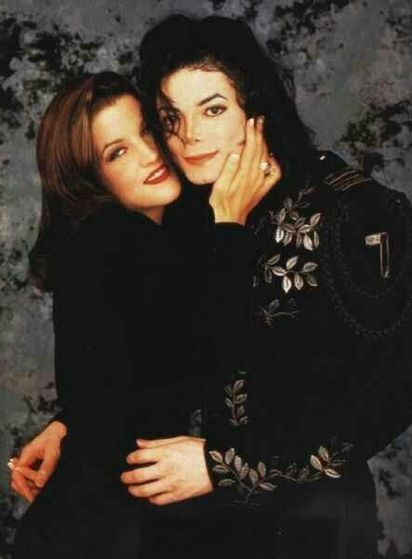 Michael With First Wife, Lisa Marie Presley
