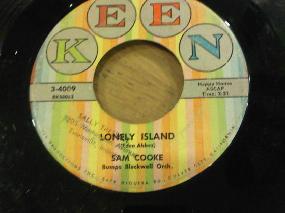 "1858 Hit Song, ""Lonely Island"" On 45 RPM"