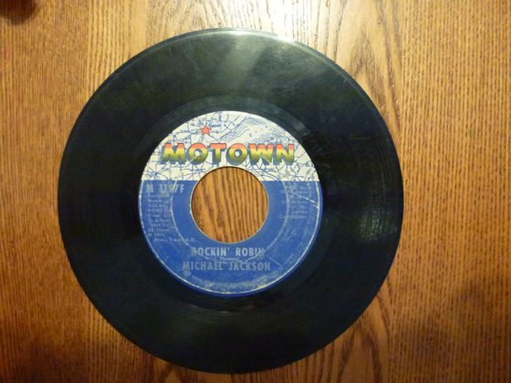 "1972 Hit Song. ""Rockin' Robin"", On 45 RPM"