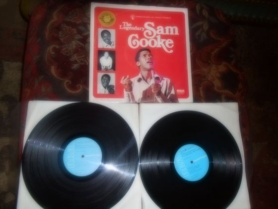 "1974 RCA 2-LP Release, ""The Legendary Sam Cooke"""