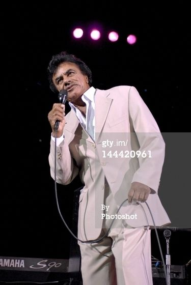In Attendance At A Johnny Mathis Concert At Madison Square Garden In New York City