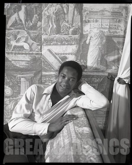 The Portrait Of Sam Cooke Which Is Hung In Michael's Spacious Living Room