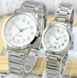 His And Hers Wristwatch Set Given To The Couple By His Mother, Katherine, On Their Wedding Day