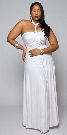 A Featured Model In The Annual Ebony Fashion Fair Fashion Show