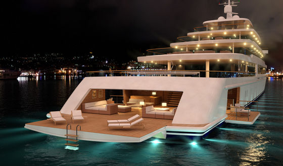 Michael's 58 Foot Yacht He's Recently Purchased For Him And Maris