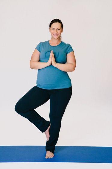 Maris Doing Yoga With Michael
