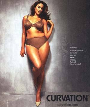 Modeling For Curvation Lingerie