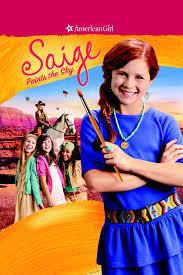 """""""Saige Paints the Sky"""" - poster"""