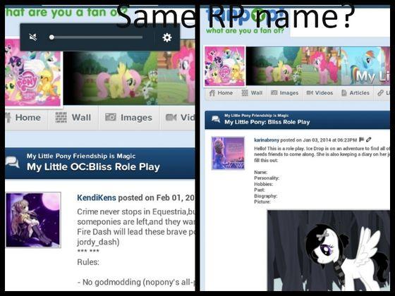 Copying my RP name.