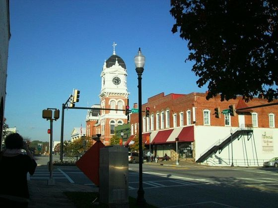 Mystic Falls...looks like a nice enough place!