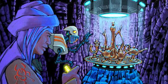Aladdin 3477 - Concept Art by Matt Busch