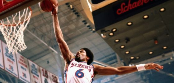 He wasn't even born when Dr. J was doing his thing!