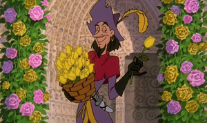 """""""And now, if you'll excuse me, Archdeacon, I must give these to the Belles of Notre Dame."""""""