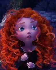 Pixar made her less pretty because it was about the movie, but I found her at her most prettiest as a child