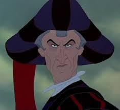 """""""And he shall smite the wicked and plunge them into the fiery pit!"""" - Claude Frollo"""