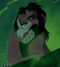 """""""Yes, well forgive me for not leaping for joy.  Bad back, you know."""" Scar"""