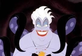 """You got it, sweetcakes. No more talking, singing, zip"" - Ursula"
