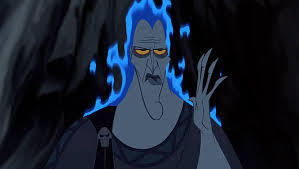 """""""Whoa, is my hair out?"""" - Hades"""