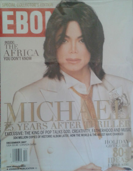 December 2007 Issue Of Ebony Magazine
