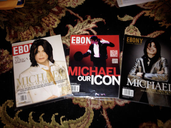 On The Cover Of All Three Issues Of EBONY Magazine