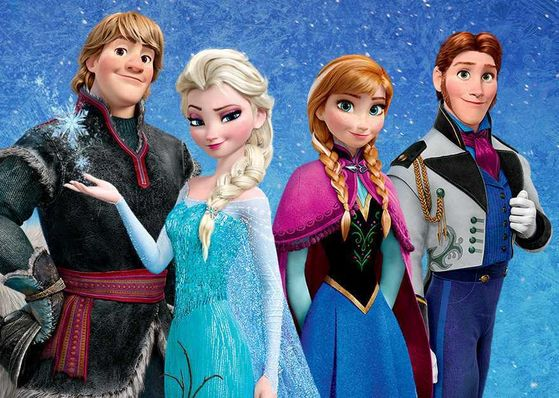 why the lack of racial diversity in the main characters of frozen