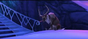 """Who's the funny looking donkey over there?"" - Olaf. ""That's Sven."" - Anna. ""Aha and who's the reindeer?"" - Olaf"