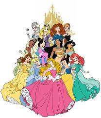 Disney princesses in order