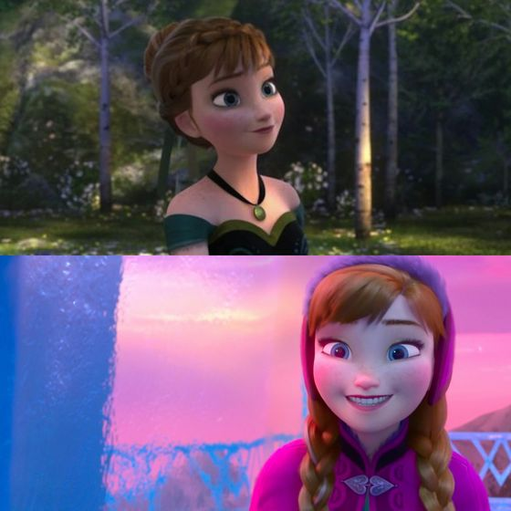 """""""Don't know if I'm elated 或者 gassy, but I'm somewhere in that zone"""" ah, what a great quote, Anna, stay classy. Btw she looks a little gassy in that 2nd picture."""