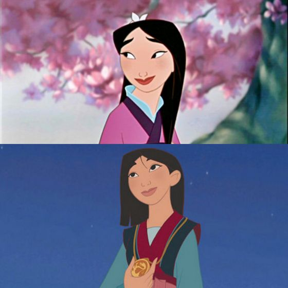 Who is that girl I see? She's Mulan, my all time favorite, did anyone really expect a different #1 from me. Give me a warrior woman over a damsel in distress any day.